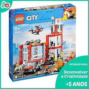 Lego City 60215 O Quartel dos Bombeiros