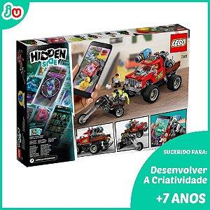 Lego Hidden Side 70421 O Caminhao de Acrobacias de El Fuego