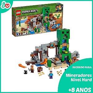 Lego Minecraft 21155 - A Mina de Creeper 834 Peças