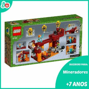 Lego Minecraft 21154 A Ponte Flamejante Blaze Bridge