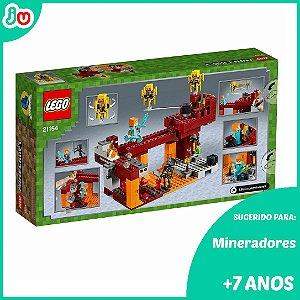 Lego Minecraft 21154 A Ponte Flamejante Blaze Bridge