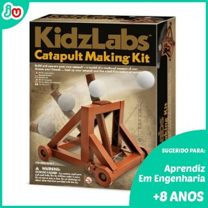 Kit Catapulta 4M Kidzlabs Brinquedo STEM