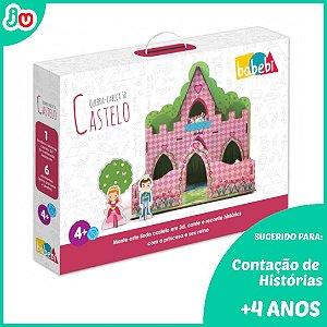 Brinquedo Criativo Quebra-Cabeça 3D Castelo +4 anos