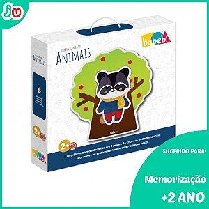 Quebra-Cabeça Infantil Mix Animais - Babebi