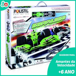 Polistil Slot Car 96057 Autorama Sorpasso Virtual Race 1/43