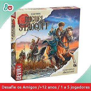 Jogo Boardgame Miguel Strogoff - Devir