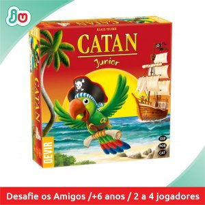Jogo Boardgame Catan Junior - Devir
