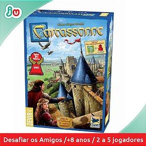 Jogo Boardgame Carcassonne 2ª Ed. - Devir