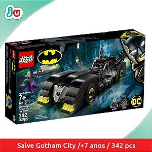 Lego DC Batman 76119 Batmóvel e Perseguição ao Coringa Joker