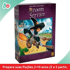 Jogo Boardgame Broom Service - Grow
