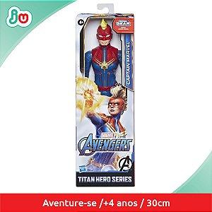 Boneco Capitã Marvel Series Hasbro Vingadores Avengers E7875
