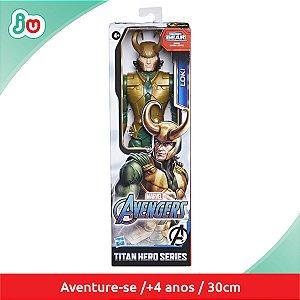 Boneco Loki Marvel Avengers Hasbro Titan Hero Series E7874