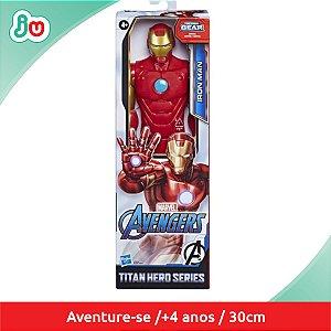 Boneco Iron Man Avengers Titan Hero Series Hasbro E7873