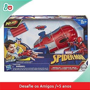 Nerf Lança Teias Homem Aranha Marvel Spiderman Hasbro E7328