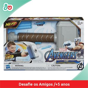 Martelo de Combate Thor Marvel Nerf Vingadores Hasbro E7379