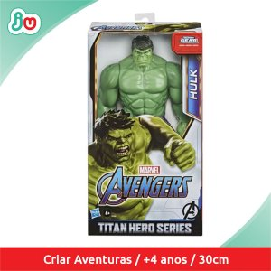 Boneco Action Figure Hulk Titan Hero Series Hasbro E7475