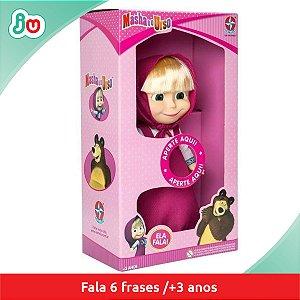 Boneco Masha Falante - Estrela