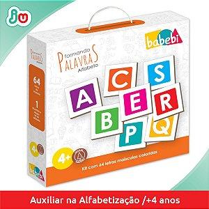 Brinquedo de Alfabetização Formando as Palavras Babebi