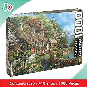 Quebra Cabeça P1000 Casa no Lago - Grow