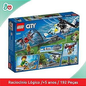 Lego City 60207 Polícia Aérea Perseguição ao Drone