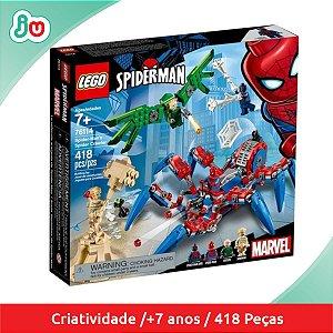 Lego Spider Man 76114 Aranha Trepadora Spider Crawler