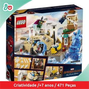 Lego Spider Man Homem Aranha 76129 Marvel Ataque Hydro Man
