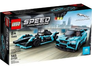 Lego Speed Champions  76898 Formula E - Jaguar Racing Gen2