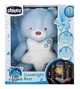 Painel Ursinho Bons Sonhos Menino Azul Chicco 91562