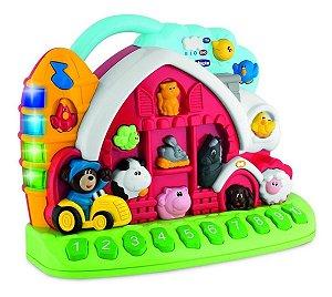 Brinquedo Atividades Da Fazenda Bilíngue Chicco