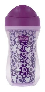 Copo Bebê Active Cup 14m+ 266ml Borboleta Térmico - Chicco