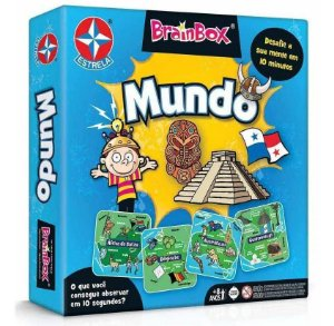 Jogo Brainbox Mundo Estrela