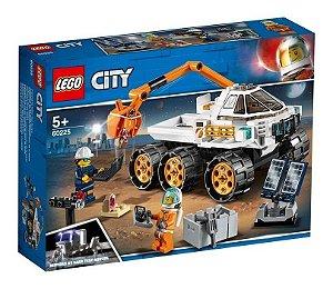 Lego City 60225 Teste De Condução De Carro Lunar