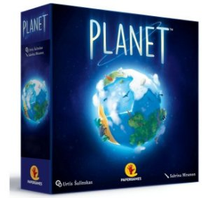 Boardgame Jogo Planet - Papergames