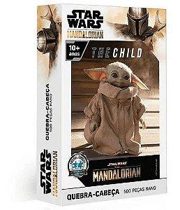 Quebra Cabeça Star Wars The Mandalorian 500 Peças Toyster