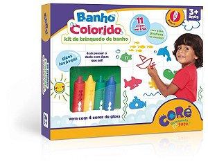 Kit De Brinquedo De Banho - Banho Colorido Toyster