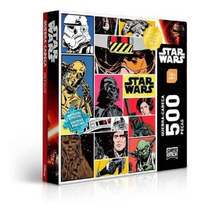 Puzzle Quebra Cabeça Star Wars 500 Peças - Game Office