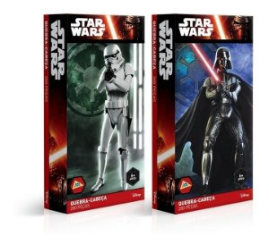 Kit 2 Puzzle 200 Pçs- Star Wars Darth Vader E Stormtrooper