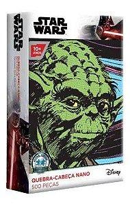 Quebra-cabeça Star Wars - Yoda 500 Peças Nano