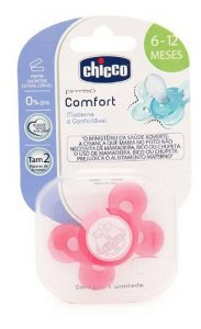 Chupeta Comfort Chicco Rosa Tam 2 6-12m