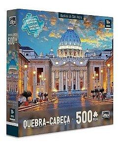 Quebra Cabeça 500 Pcs Basílica De São Pedro - Toyster 2305
