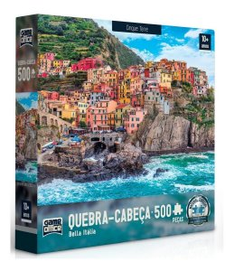 Quebra Cabeça 500 Peças Bella Itália Cinque Terre Toyster
