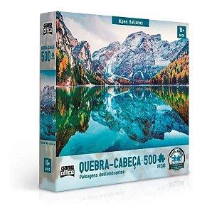 Quebra Cabeça 500 Peças - Alpes Italianos Toyster