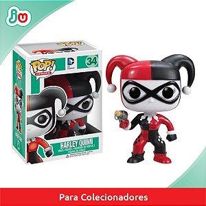 Funko Pop! - DC Esquadrão Suicída #34 Harley Quinn Arlequina