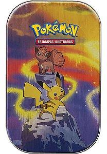 Mini Lata Pokémon Pikachu Poder De Kanto