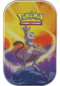 Mini Lata Pokémon Mewtwo Poder De Kanto