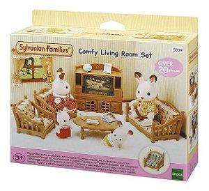 Conjunto Sala De Estar Confortável Sylvanian Familes