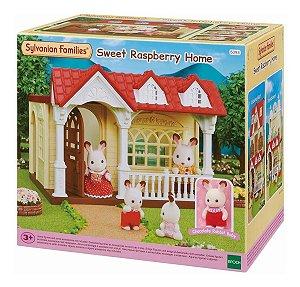 Brinquedo Sylvanian Families Casa Doce Framboesa Epoch 5393