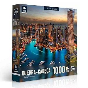 Quebra Cabeça Marina De Dubai Puzzle 1000 Peças - Toyster