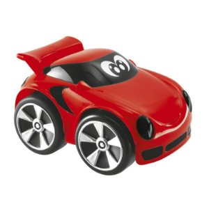 Carrinho Mini Turbo Touch Redy Chicco Vermelho