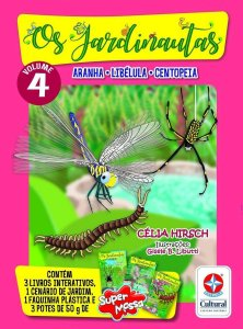 Os Jardinautas Vol. 4 - Tatuzinho, Centopeia, Aranha